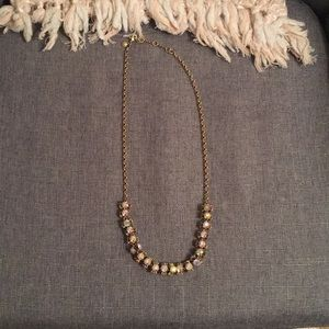 JCREW bauble/statement necklace -iridescent